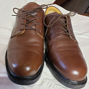Timberland Waterproof Brown Leather Dress Shoes